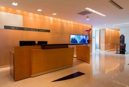 Tenant Reception Area